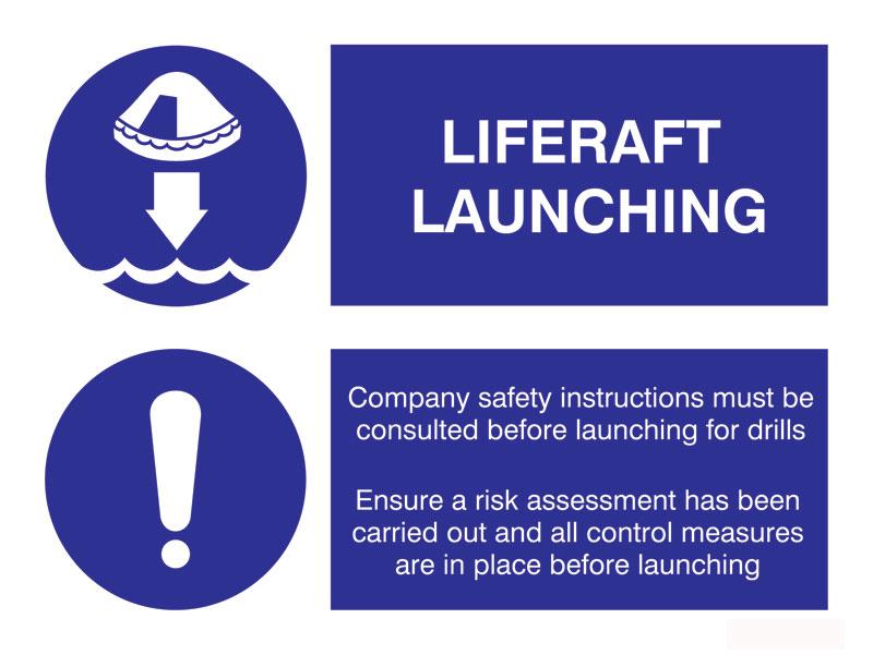 Liferaft-Launching